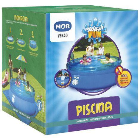 Imagem de Piscina Mor 2400 Litros Inflável Standard 2300 2420 2419 L