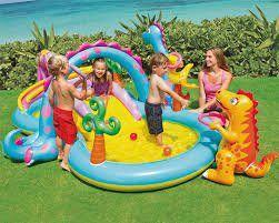 Imagem de Piscina Playcenter Infantil Floresta 280 Litros Intex