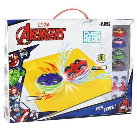 Imagem de Pista Combate Gyro Hero Marvel Avengers - DTC