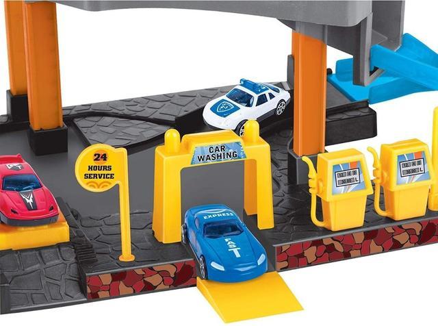 Imagem de Pista De Carro Lava Rápido Garagem Posto Com Elevador Kids