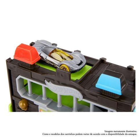 Imagem de Pista Hot Wheels - City Downtown - Delegacia de Polícia - Mattel