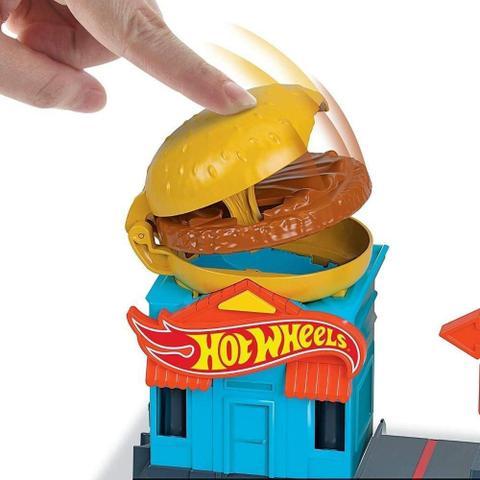 Imagem de Pista Hot Wheels City Loja Hamburger Mattel
