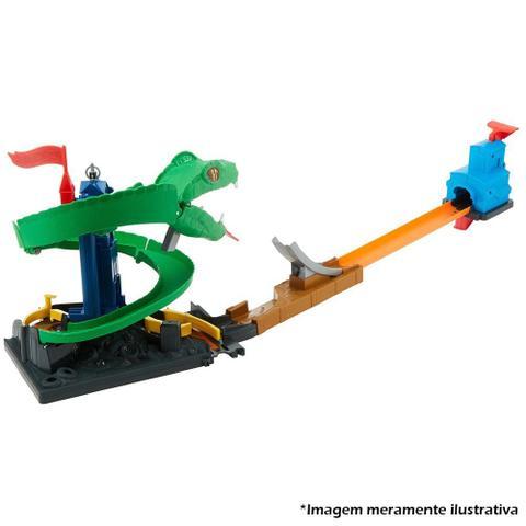 Imagem de Pista Hot Wheels Conjunto Ataque De Cobra City - Mattel