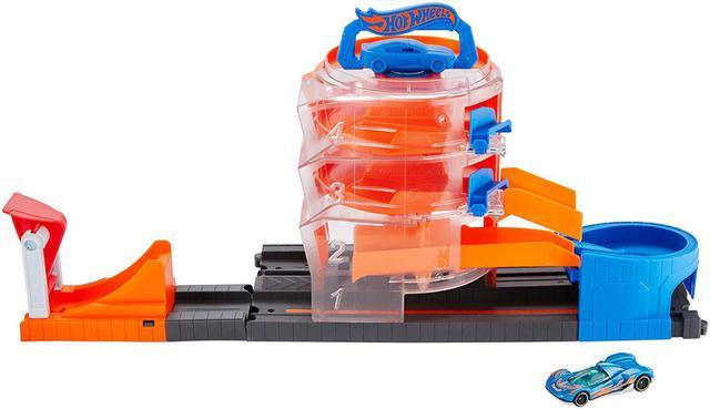 Imagem de Pista Hot Wheels - Super Giro Na Loja de Carros - Mattel