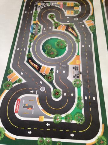 Imagem de Pista Para Carros Hot Wheels Pista + Aeroporto Mega