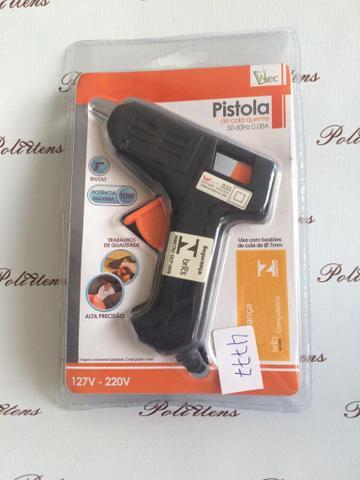 Imagem de Pistola De Cola Quente Bivolt 10w + 2 Bastões De Cola