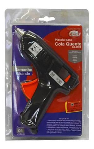 Imagem de Pistola De Cola Quente Profissional Grande 40w Bi-volt  bastão 11 mm