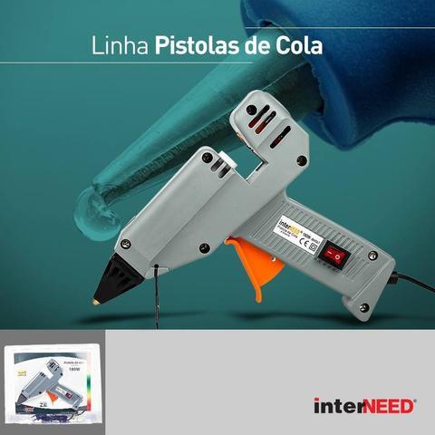Imagem de Pistola De Cola Quente Silicone Profissional 180w Bivolt