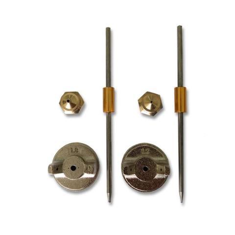 Imagem de Pistola de Pintura 600 ML Tipo Gravidade com Kit de Bocais STELS