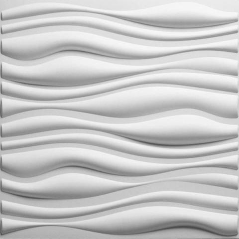 Imagem de Placa 3d Auto Adesiva Inreda 50x50cm Poliestireno PVC 1,0mm