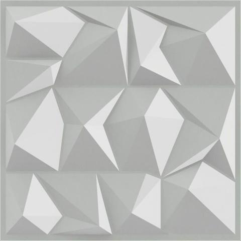 Imagem de Placa 3d Auto Adesiva Poly 50x50cm Poliestireno (PVC) 1,0mm