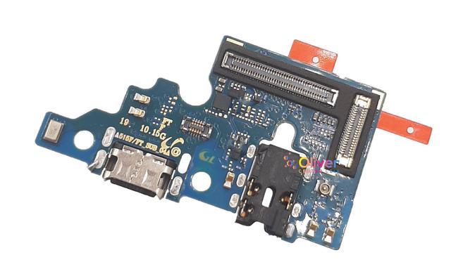 Imagem de Placa Conector De Carga Compatível Galaxy A51 Sm A515