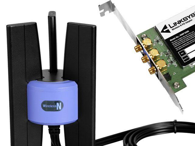 Imagem de Placa de Rede Wireless PCI 300 Mbps