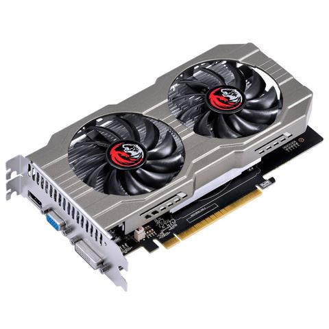 Imagem de Placa de Vídeo 2GB GDDR5 PCYes Geforce GTX 750TI 128 Bits Directx 11 Dual Fan - PA750TI12802G5DF