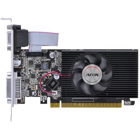 Imagem de Placa de Vídeo AFOX G210 Geforce 1GB DDR3 HDMI DVI VGA Até 2 Monitores Low Profile - AF210-1024D3L5