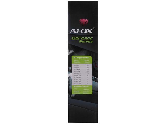 Imagem de Placa de Vídeo Afox GeForce GTX1050 Ti 4GB GDDR5