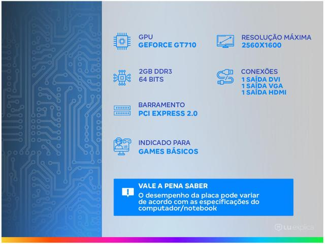 Imagem de Placa de Vídeo Afox NVIDIA GeForce GT710