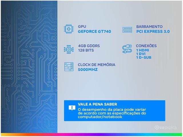 Imagem de Placa de Vídeo Afox NVIDIA Geforce GT740 4GB