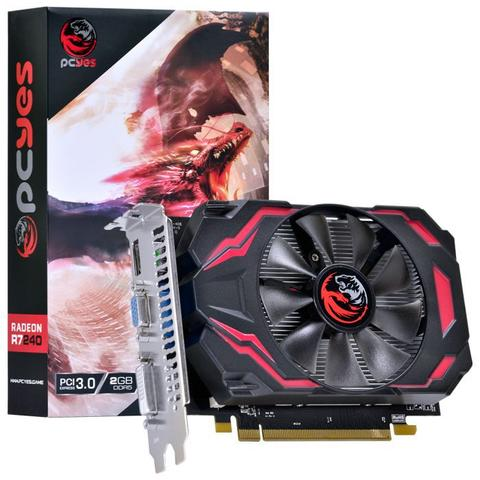 Placa de Vídeo Pcyes R7 240 2gb Ddr5 Pj240r712802d5