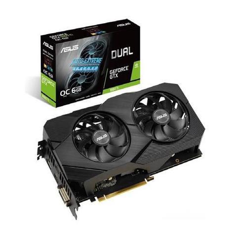 Imagem de Placa De Vídeo Asus Geforce Gtx 1060 Ti Oc 6gb Gddr6 192 Bits - Dual-GTX1660TI-O6G-EVO