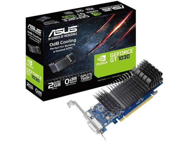 Imagem de Placa de Vídeo Asus NVIDIA GeForce GT1030