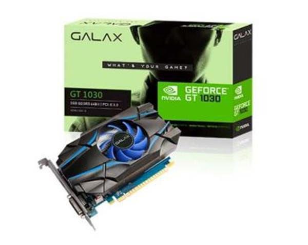 Placa de Vídeo Galax Gt 1030 2gb Ddr5 30nph4hvq4st