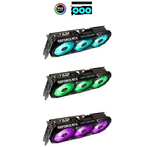 Imagem de Placa de vídeo Galax GeForce RTX 3070 Ti SG 1-Click 8GB GDDR6X 256BITS 37ISM6MD4BSG