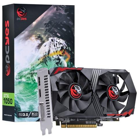 Imagem de Placa de Vídeo Geforce GTX 1050 2GB GDDR5 PCYes 128 Bits Directx 12 Dual Fan - PA1050GTX12802G5