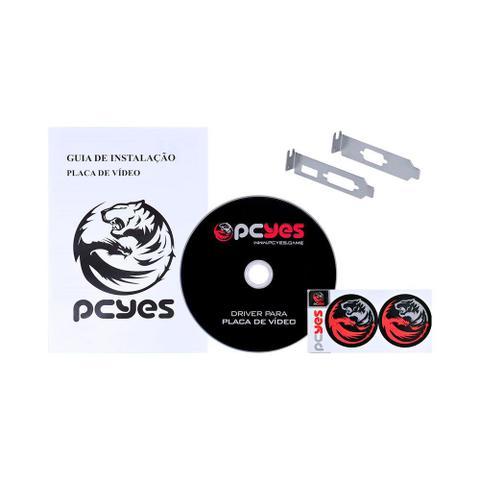 Placa de Vídeo Pcyes G210 1gb Ddr3 Pa210g6401d3lp