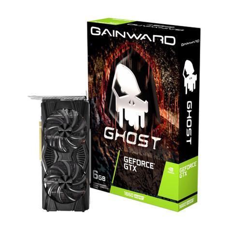 Placa de Vídeo Gainward Gtx 1660 6gb Ddr6 Ne6166s018j9-1160x