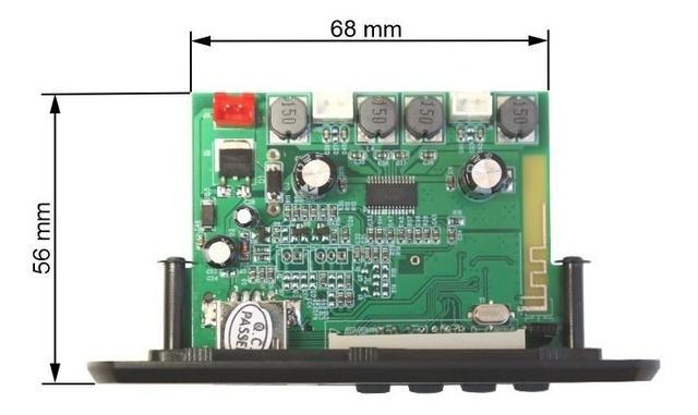 Imagem de Placa Decodificadora Usb Amplificada 15+15 Watts