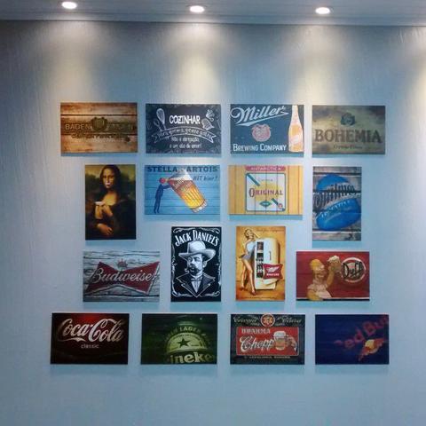 Imagem de Placa Decorativa em MDF com 20x30cm - Modelo P230 - Che Guevara