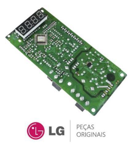Imagem de Placa Display 110v 220v Microondas LG CRB38437001