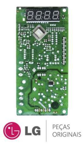 Imagem de Placa Display 110v 220v Microondas LG MS3048G