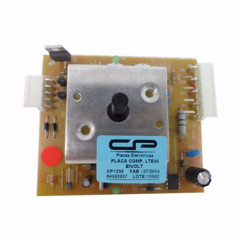 Imagem de Placa Eletrônica Compatível Máquina Lavar Electrolux Lte06 Turbo 6kg