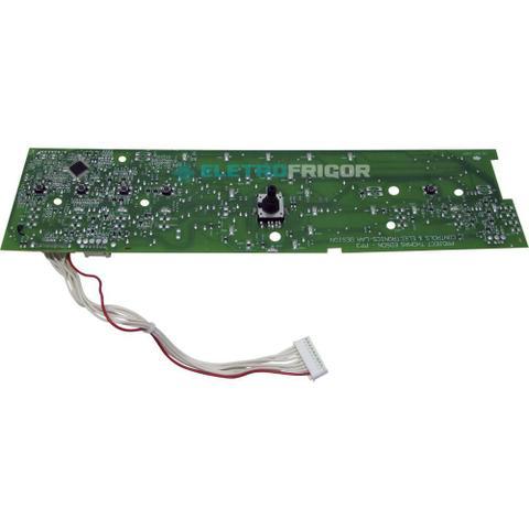 Imagem de Placa eletronica interface lavadora brastemp 110v e 220v w10301604