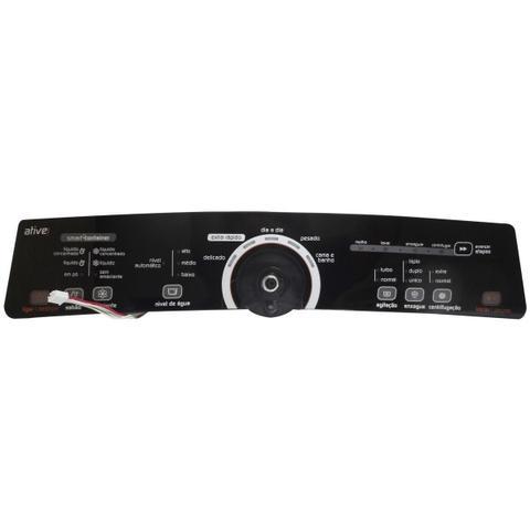 Imagem de Placa Eletrônica Interface Lavadora Brastemp Bivolt Console Preto W10463580
