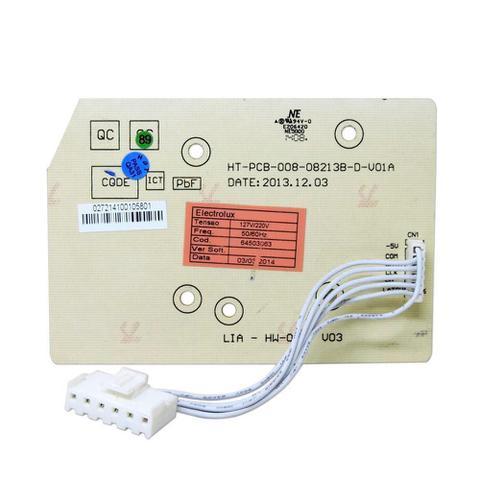 Imagem de Placa eletronica interface lavadora electrolux 09 10 11 12 13 15 kg 127v 220v 64503063 original