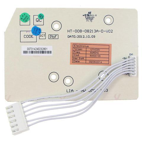 Imagem de Placa eletronica interface lavadora electrolux 10kg 12kg 15kg 64500135