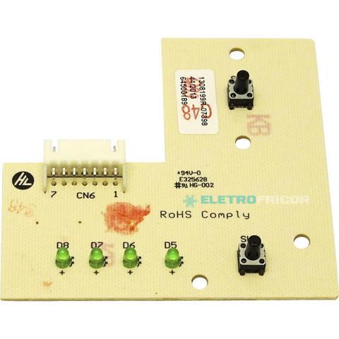 Imagem de Placa eletronica interface lavadora electrolux 110v 220v 64500189