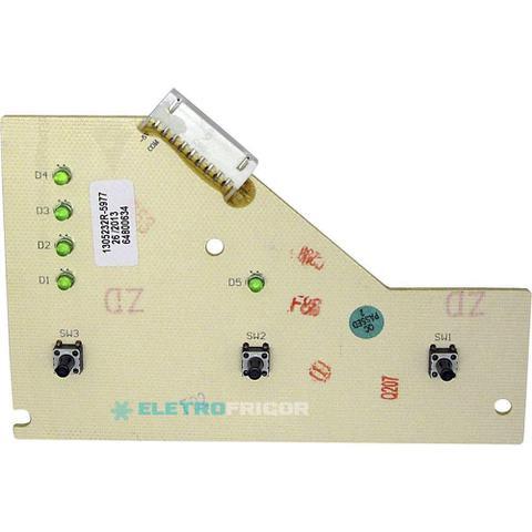 Imagem de Placa eletronica interface lavadora electrolux 127v 64800634
