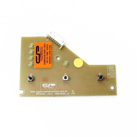 Imagem de Placa eletronica interface lavadora electrolux lte12 v1 127v cp placas