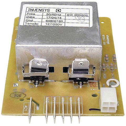 Imagem de Placa eletronica lavadora electrolux 127v 64800160 original