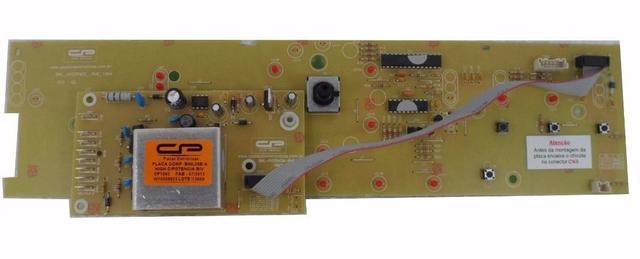 Imagem de Placa Interface e Potência Compatível Máquina Lavar Brastemp 9kg Bwl09b bivolt W10308925 versão 1
