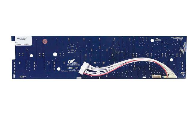 Imagem de Placa Interface Lavadora Brastemp BWK11AB W10755942 Alado