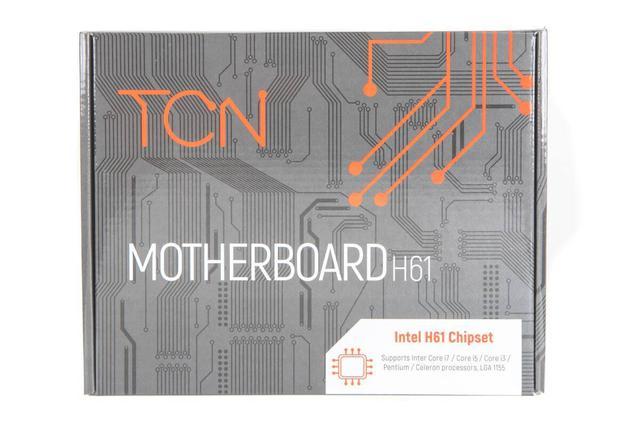 Imagem de Placa-Mãe 1155 TCN H61 DDR3 BOX com HDMI (S,V,R)