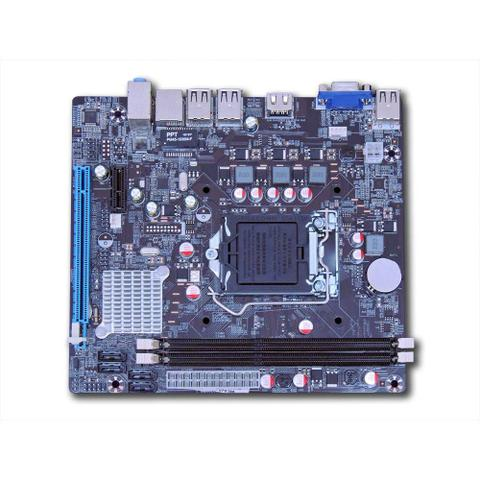 Imagem de Placa Mãe Chipset Intel H61 Ddr3 Lga 1155 - 8gb - C/ Hdmi