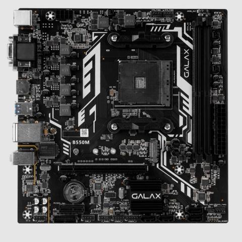 Imagem de Placa Mae Galax B550m AMD AM4, mATX - AB550MAGCHY1CW