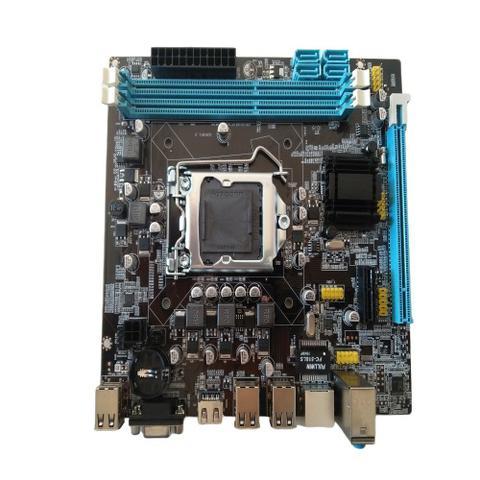 Imagem de Placa Mãe HDMI VGA LGA 1155 Chip Intel H61 Memória Ddr3 1600/1333/1066