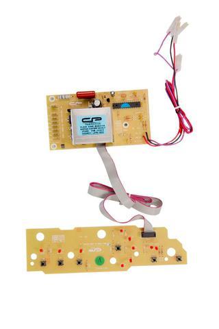 Imagem de Placa Painel e adesivo Compatível Máquina Lavar roupa Brastemp TURBO BWC10A BWG10A 10KG  versão 1